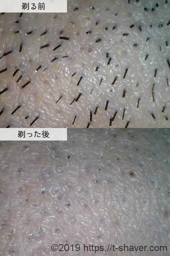 ジレット カスタムプラス3プレミアムスムースの深剃り性能