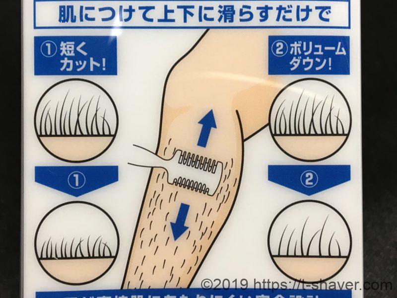 【レッグトリマー】すきカミソリの正しい使い方と注意点